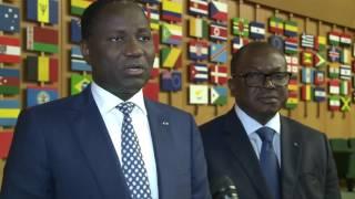 Déclaration de S.E.Mamadou Sangafowa Coulibaly, Ministre de Côte d'Ivoire