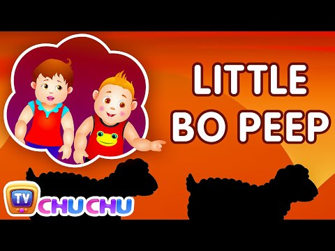 Little Bo Peep Has Lost Her Sheep Nursery Rhyme - ChuChu TV Kids Songs