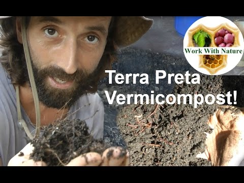 Terra Preta Vermicompost! - How to make a great Biochar Worm Compost!