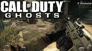 Call Of Duty Ghosts Gameplay - TDM on Strikezone w/ MTAR X