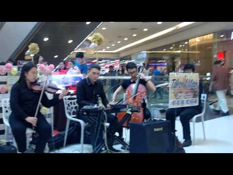 ikaw instrumental by musicians strings quartet for parties events in manila Philippines