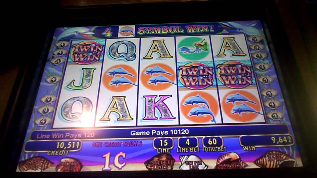 Twin Win Slot Machine Line Hit Youtube