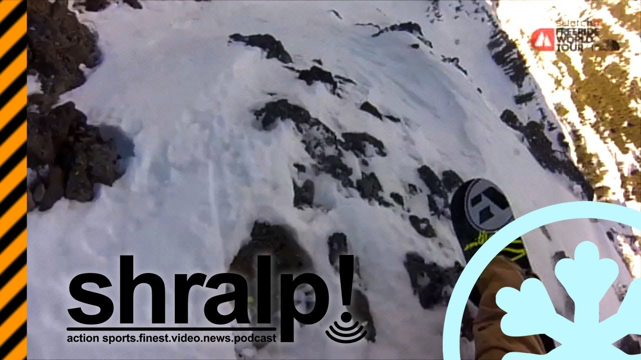 Video: Snowboarding slams, falls and fails, FWT Kirkwood 2013 – shralp #209