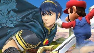 Super Smash Bros 4 Characters: Marth Trailer (WII U / 3DS