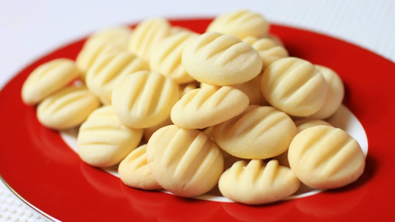 Butter Cookies Recipe - YouTube