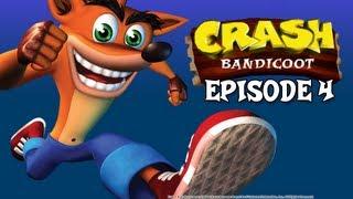 """Let's Play Crash Bandicoot - Episode 4 """"Too freakin' hot"""""""