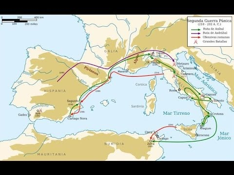Hispania Romana 20 - Sagunto y la Segunda Guerra Púnica - Prof. Manuel Lafarga