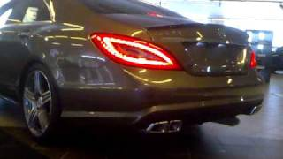 Mercedes New CLS63 AMG 2011 Exhaust Sound