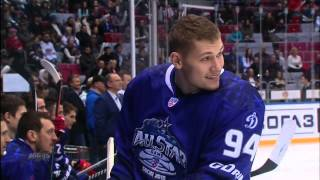 Awesome Hockey Trick Shot at All Star Game