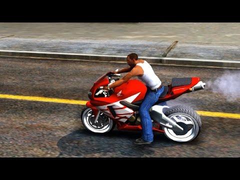GTA San Andreas - 2005 Honda CBR 600RR Akrapovic Evo EnRoMovies