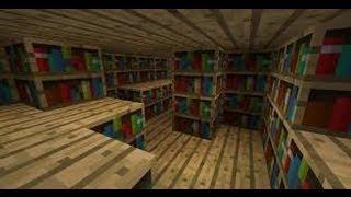 Minecraft Tutoriales Como Hacer Una Biblioteca