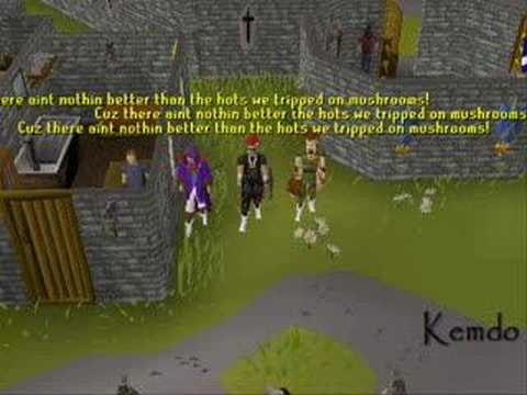 The Harry Potter Rap- Runescape Style