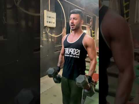 Biceps exercise   grow your arms   hammer curls