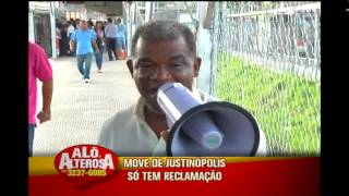 Usu�rios reclamam da Esta��o do Move Justin�polis
