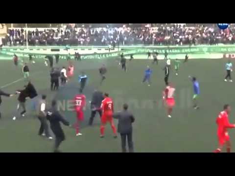 USMM Hadjout - USM Bel Abbés [Riots 2014 March]