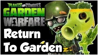 Plants vs. Zombies Garden Warfare Walkthrough - RETURN TO GARDEN!! Gameplay (1080p HD)