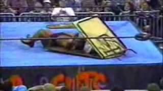 Wrestling Gone Wrong Taz Breaks Sabu's Neck With A Dragon