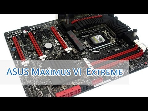 ASUS Maximus VI Extreme unboxing & Feature-Check HD/German