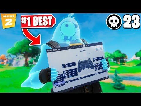 *BEST* Controller Fortnite Settings/Sensitivity! (Chapter 2 Settings - Ps4/Xbox)   NEW BEST SETTINGS