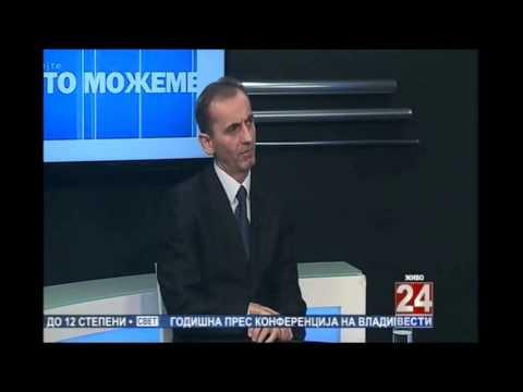 Министерот за образование Адеми на екстерно тестирање во ТВ 24 Вести