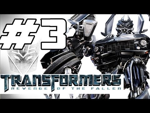 Transformers: Revenge of the Fallen Walkthrough Part 3 - Megatron Returns (Gameplay Commentary)