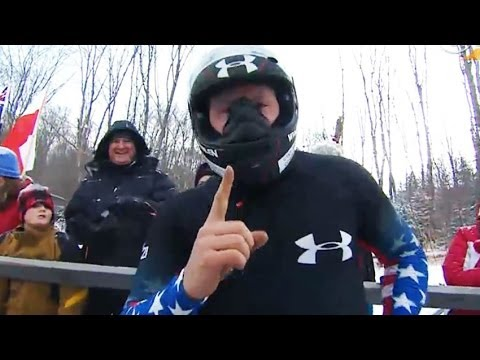 Holcomb wins third straight 2 Man Bobsled - Universal Sports