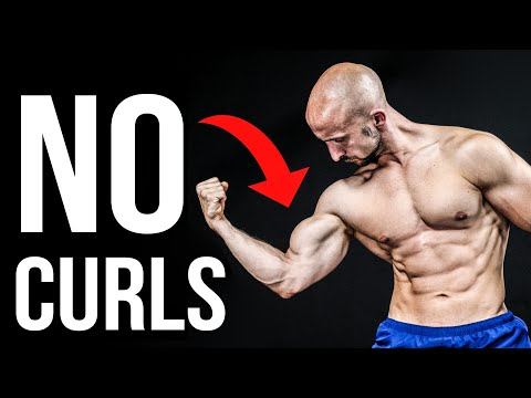 How to Train Your Biceps Without Curls!