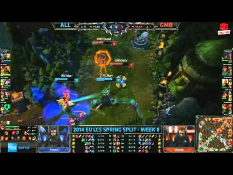 [07.03.2014] ALL vs GMB [LCS EU Xuân 2014]