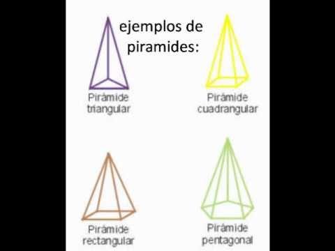Figuras de prismas y pirámides - Imagui