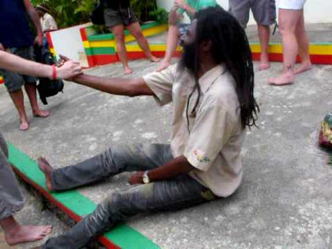"Crazy Jamaican tour guide ""Captain Crazy"""