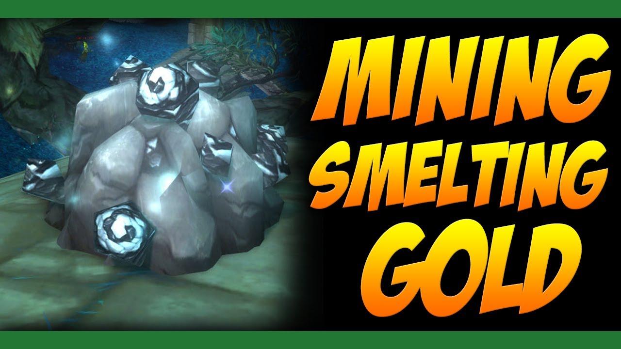 mining  smelting gold guide world  warcraft mists  pandaria youtube