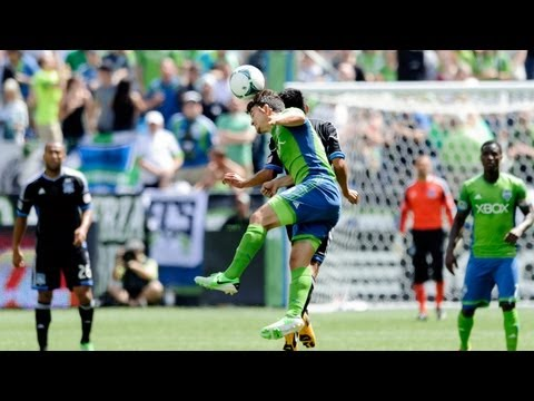 HIGHLIGHTS: Seattle Sounders vs San Jose Earthquakes | May 11, 2013