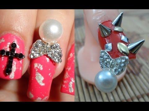 Caviar Nails Diy How To Do Caviar Nail Art At Home With 3d Cavair