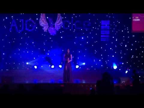 [ Chung kết AJC Voice 2012 ] Khách mời Thủy Đặng - Nuối Tiếc