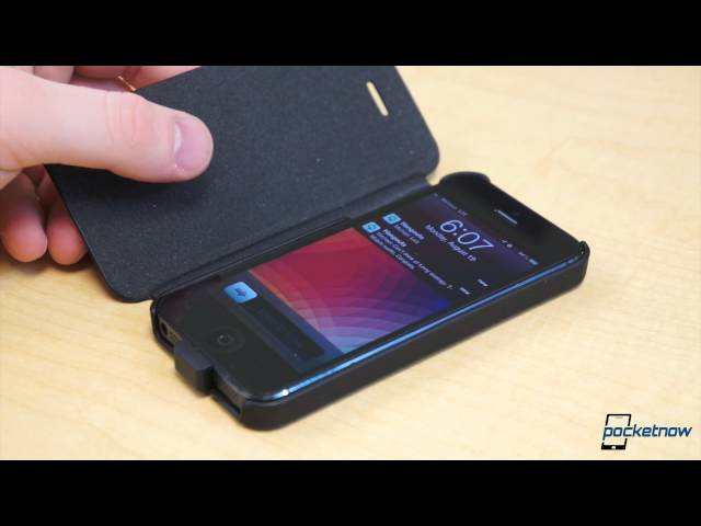 ZENS Wireless Charging Flip Case for the iPhone 5 review