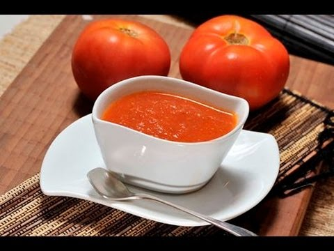 Salsa roja picante - Spicy Red Sauce - YouTube