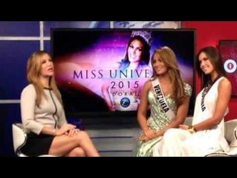 Entrevista a Miss Venezuela y Miss Colombia en @MundoFOXinforma