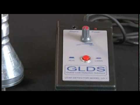 GEOFONE ELETRÔNICO GLDS LD-1 CAÇA VAZAMENTOS Tel. 11 3922-9633