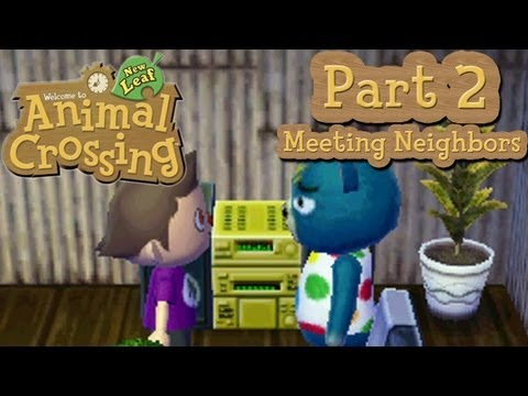 Animal Crossing: New Leaf - Part 2: Meeting all the Neighbors of A-Nation!