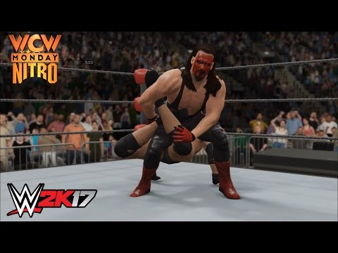 WWE 2K17 - Bill Goldberg vs. Sting: World Heavyweight Championship - WCW Monday Nitro