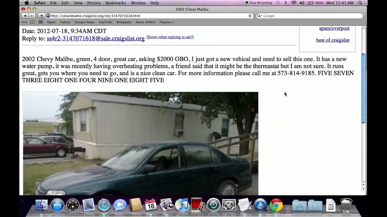 Craigslist Jefferson City Missouri Used Cars For Sale By