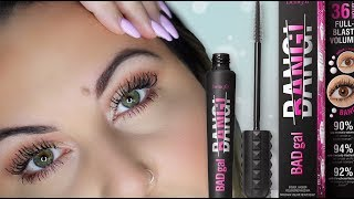*NEW* Benefit BAD GAL BANG MASCARA REVIEW! GIVEAWAY?