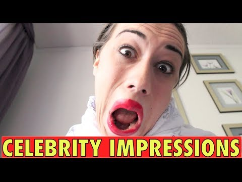 The BEST celebrity impressions under 10 minutes! - YouTube