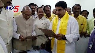 Nara Lokesh Takes Oath As MLC