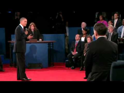 President Obama on Libya   I'm the President and I'm Always Responsible     2012 Presidential Debate