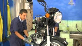 Como lavar una moto