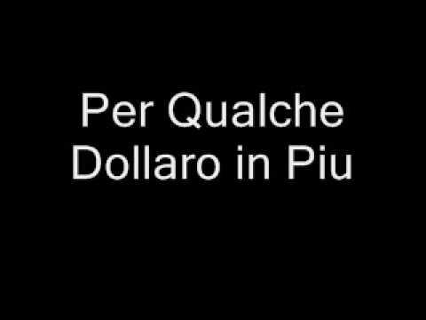 Per Qualche Dollaro in Piu-O Melhor do Bang-Bang à Italiana