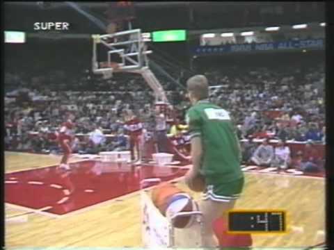 3 point shootout 1988 Larry Bird