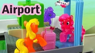 MLP Airport Security Check My Little Pony Travel Part 2