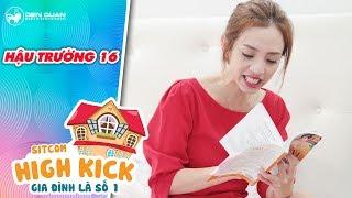 Gia đình là số 1 sitcom | hậu trường 16: Thu Trang, Tiến Luật, Sam cười lăn lóc với thoại tiếng Thái
